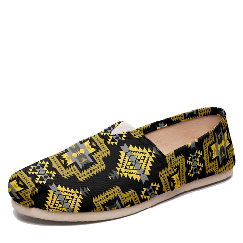 Pretty Blanket Yellow Ocre Casual Unisex Slip On Shoe Herman