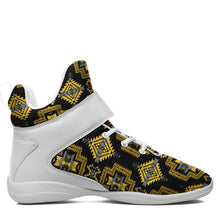 Pretty Blanket Yellow Ocre Kid's Ipottaa Basketball / Sport High Top Shoes 49 Dzine