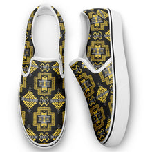 Pretty Blanket Yellow Ocre Otoyimm Canvas Slip On Shoes 49 Dzine