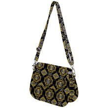 Pretty Blanket Yellow Ocre Saddle Handbag cross-body-handbags 49 Dzine