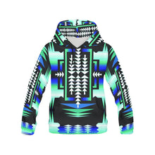 Rainy Skies Sage All Over Print Hoodie for Men (USA Size) (Model H13) All Over Print Hoodie for Men (H13) e-joyer