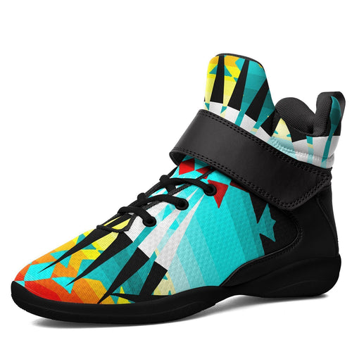 Ribbonwork Bustles Ipottaa Basketball / Sport High Top Shoes - Black Sole 49 Dzine US Men 7 / EUR 40 Black Sole with Black Strap