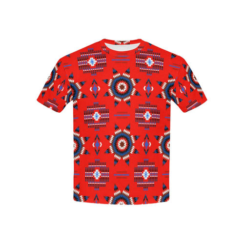 Rising Star Blood Moon Kids' All Over Print T-shirt (USA Size) (Model T40) All Over Print T-shirt for Kid (T40) e-joyer