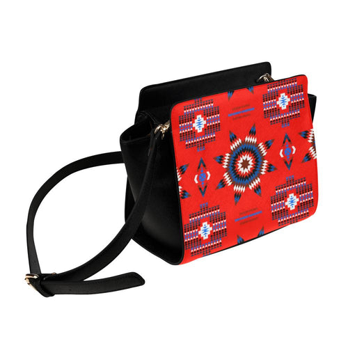 Rising Star Blood Moon Satchel Bag (Model 1635) Satchel Bag (1635) e-joyer