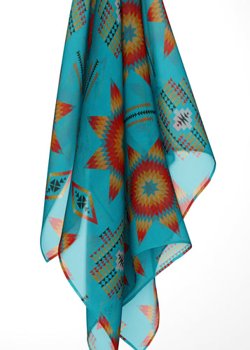Rising Star Harvest Moon Large Square Chiffon Scarf fashion-scarves 49 Dzine