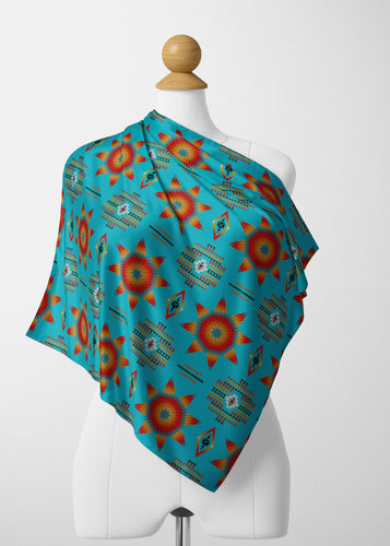Rising Star Harvest Moon Satin Shawl Scarf 49 Dzine