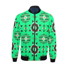 Rising Star Sage Moon All Over Print Bomber Jacket for Men/Large Size (Model H19) All Over Print Bomber Jacket for Men/Large (H19) e-joyer