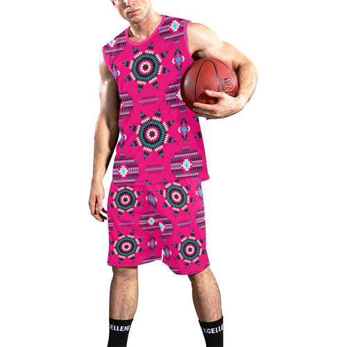 Rising Star Strawberry Moon All Over Print Basketball Uniform Basketball Uniform e-joyer