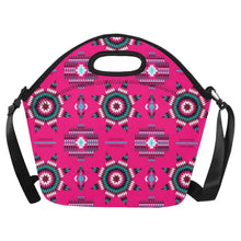 Rising Star Strawberry Moon Neoprene Lunch Bag/Large (Model 1669) Neoprene Lunch Bag/Large (1669) e-joyer