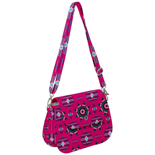 Rising Star Strawberry Moon Saddle Handbag cross-body-handbags 49 Dzine