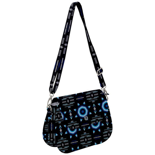 Rising Star Wolf Moon Saddle Handbag cross-body-handbags 49 Dzine