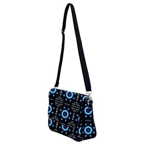 Rising Star Wolf Moon Shoulder Bag with Back Zipper 49 Dzine