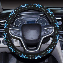 Rising Star Wolf Moon Steering Wheel Cover with Elastic Edge Steering Wheel Cover with Elastic Edge e-joyer