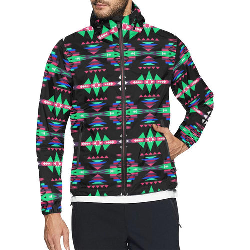 River Trail Journey Unisex All Over Print Windbreaker (Model H23) All Over Print Windbreaker for Men (H23) e-joyer