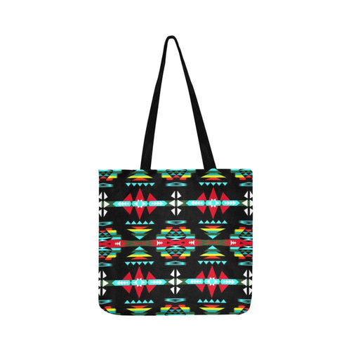 River Trail Sunset Reusable Shopping Bag Model 1660 (Two sides) Shopping Tote Bag (1660) e-joyer