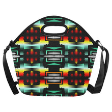 Sage Fire and Sky II Large Insulated Neoprene Lunch Bag That Replaces Your Purse (Model 1669) Neoprene Lunch Bag/Large (1669) e-joyer