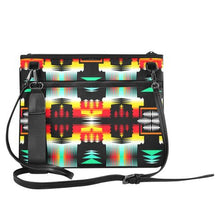 Sage Fire and Sky Slim Clutch Bag (Model 1668) Slim Clutch Bags (1668) e-joyer