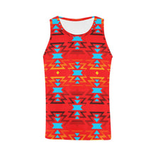 Sierra Fire Colors and Sky All Over Print Tank Top for Men (Model T43) All Over Print Tank Top for Men e-joyer