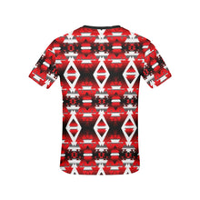 Sierra Winter Camp All Over Print T-shirt for Women/Large Size (USA Size) (Model T40) All Over Print T-Shirt for Women/Large (T40) e-joyer