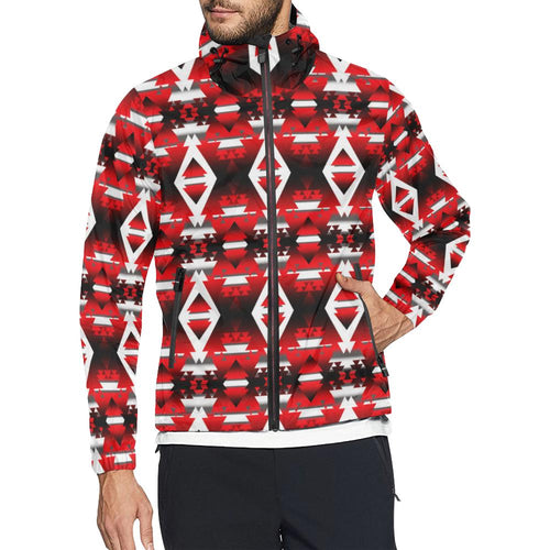 Sierra Winter Camp All Over Print Windbreaker for Men (Model H23) All Over Print Windbreaker for Men (H23) e-joyer