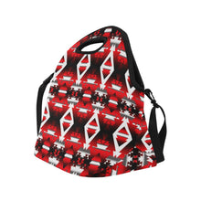 Sierra Winter Camp Large Insulated Neoprene Lunch Bag That Replaces Your Purse (Model 1669) Neoprene Lunch Bag/Large (1669) e-joyer