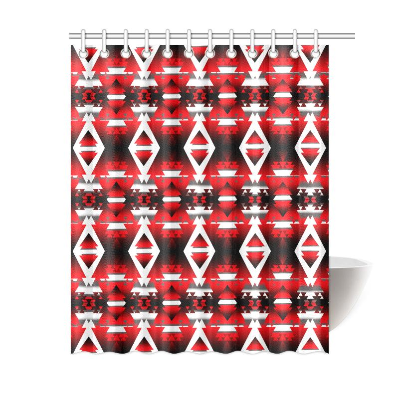 Sierra Winter Camp Shower Curtain 60