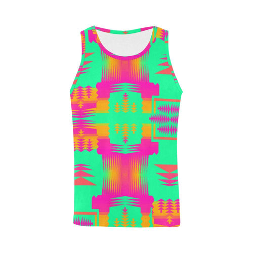 Sky Sky Sage All Over Print Tank Top for Men (Model T43) All Over Print Tank Top for Men e-joyer