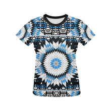 Snowbird All Over Print T-shirt for Women/Large Size (USA Size) (Model T40) All Over Print T-Shirt for Women/Large (T40) e-joyer