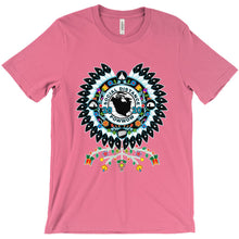 Social Distance Powwow T-Shirts 49 Dzine Charity Pink Small (S)