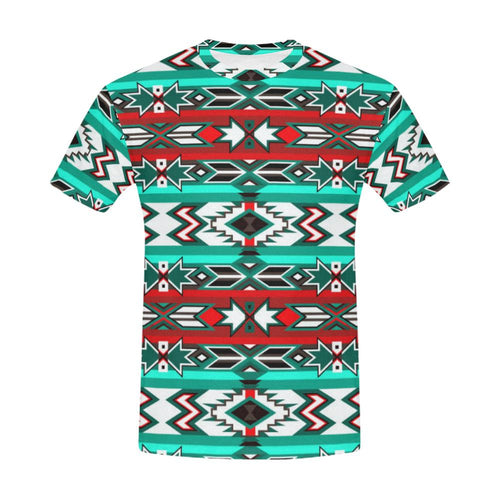 Southwest Journey All Over Print T-Shirt for Men (USA Size) (Model T40) All Over Print T-Shirt for Men (T40) e-joyer