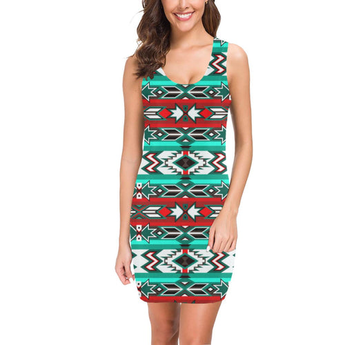 Southwest Journey Medea Vest Dress (Model D06) Medea Vest Dress (D06) e-joyer