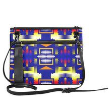 Southwest Rainbow Sage Slim Clutch Bag (Model 1668) Slim Clutch Bags (1668) e-joyer