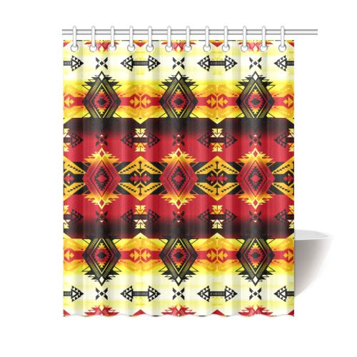 Sovereign Nation Fire Shower Curtain 60