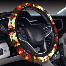 Sovereign Nation Fire Steering Wheel Cover with Elastic Edge Steering Wheel Cover with Elastic Edge e-joyer