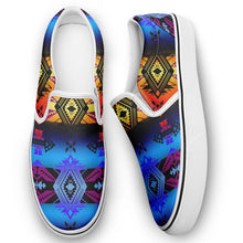 Sovereign Nation Sunset Otoyimm Canvas Slip On Shoes 49 Dzine