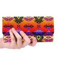 Sovereign Nation Sunset Women's Trifold Wallet (Model 1675) Women's Trifold Wallet e-joyer