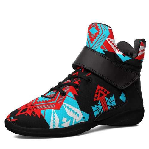 Sovereign Nation Trade Ipottaa Basketball / Sport High Top Shoes - Black Sole 49 Dzine US Men 7 / EUR 40 Black Sole with Black Strap