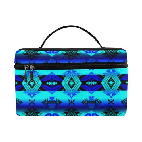 Soveriegn Nation Midnight Cosmetic Bag/Large (Model 1658) Cosmetic Bag e-joyer
