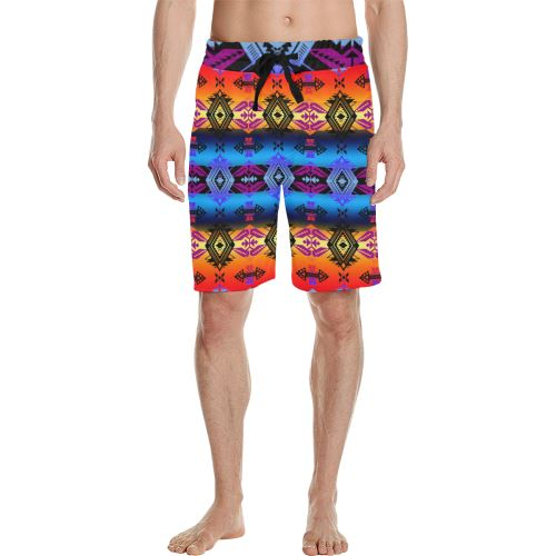 Soveriegn Nation Sunset Men's All Over Print Casual Shorts (Model L23) Men's Casual Shorts (L23) e-joyer
