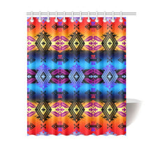 "Soveriegn Nation Sunset Shower Curtain 60""x72"" Shower Curtain 60""x72"" e-joyer"