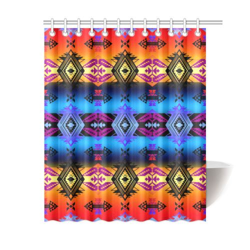 Soveriegn Nation Sunset Shower Curtain 60