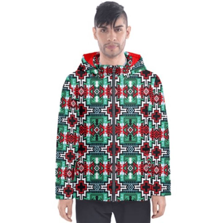 Star Blanket Insulated Winter Coat for Men 49 Dzine