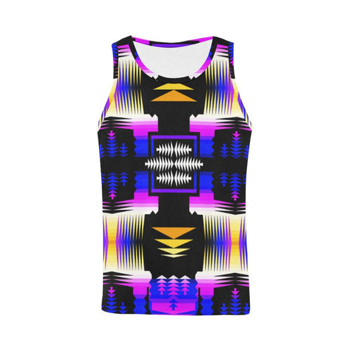 Summer Meadow Sage All Over Print Tank Top for Men (Model T43) All Over Print Tank Top for Men e-joyer