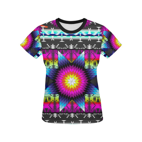 Sunrise Dream All Over Print T-shirt for Women/Large Size (USA Size) (Model T40) All Over Print T-Shirt for Women/Large (T40) e-joyer