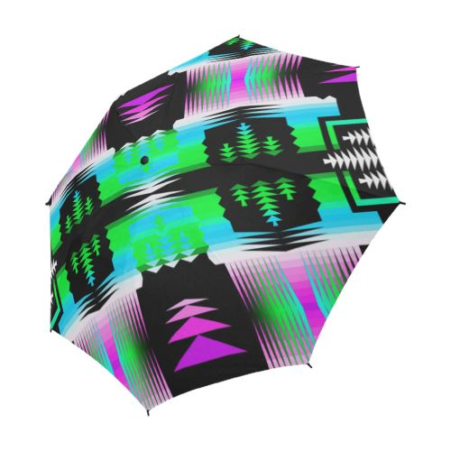 Sunset and Sky Sage Semi-Automatic Foldable Umbrella Semi-Automatic Foldable Umbrella e-joyer