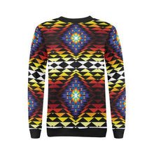 Sunset Blanket All Over Print Crewneck Sweatshirt for Women (Model H18) Crewneck Sweatshirt for Women (H18) e-joyer