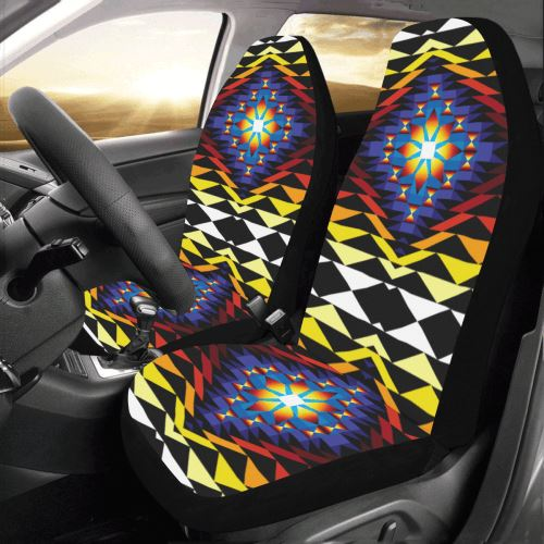 Sunset Blanket Car Seat Covers (Set of 2) Car Seat Covers e-joyer