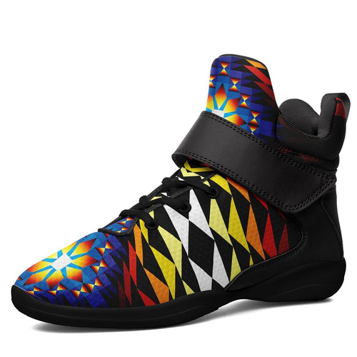 Sunset Blanket Ipottaa Basketball / Sport High Top Shoes - Black Sole 49 Dzine US Men 7 / EUR 40 Black Sole with Black Strap