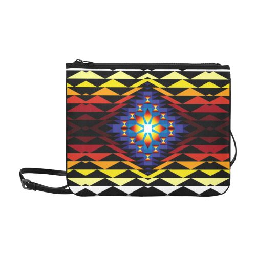 Sunset Blanket Slim Clutch Bag (Model 1668) Slim Clutch Bags (1668) e-joyer
