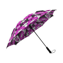 Sunset Winter Camp Semi-Automatic Foldable Umbrella Semi-Automatic Foldable Umbrella e-joyer
